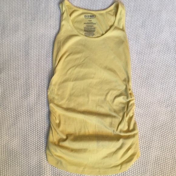 cfe36f0872a2 Yellow maternity tank top. M 5a9722099cc7efa592319ff1. Other Tops you may  like. Old Navy ...